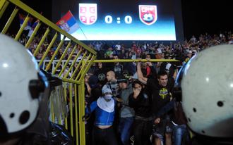 Szerbia-Albánia - Félbeszakadt