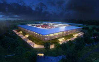 Bemutatták az új Vidi-stadion látványterveit - fotók
