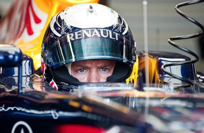 Vettel koncentráltsága pole pozíciót eredményezett - Fotó: AFP