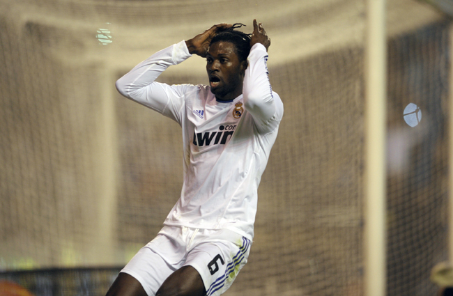 Adebayor - Fotó: AFP