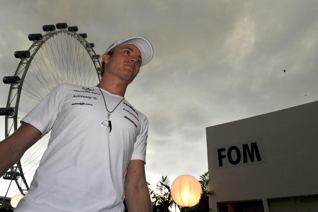 Rosberget nem idegesíti a nyeretlenség - Fotó: AFP