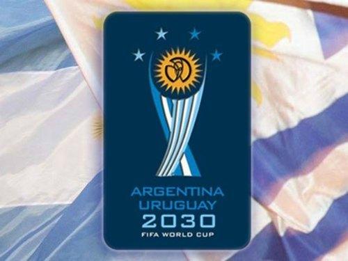 Az első világbajnokság 100 éves évfordulóján akar a két dél-amerikai ország közösen rendezni - Grafika: argentinauruguay2030.com