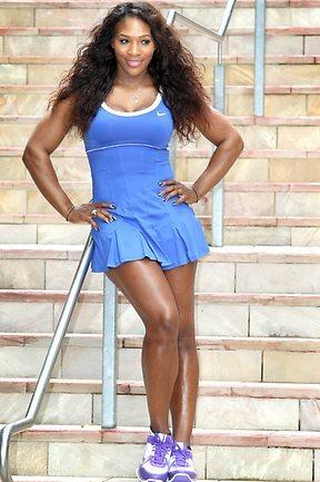Serena Williams férfiak millióit bűvölheti el újfent - Fotó: heraldsun.com.au