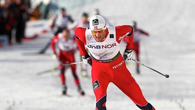 Petter Northug hajrája ezúttal Nove Mestóban ért aranyat a norvégoknak - Fotó: fiscrosscountry.com