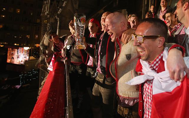 A Bayern triplázott az elmúlt idényben, de a BL-siker volt a csúcs
