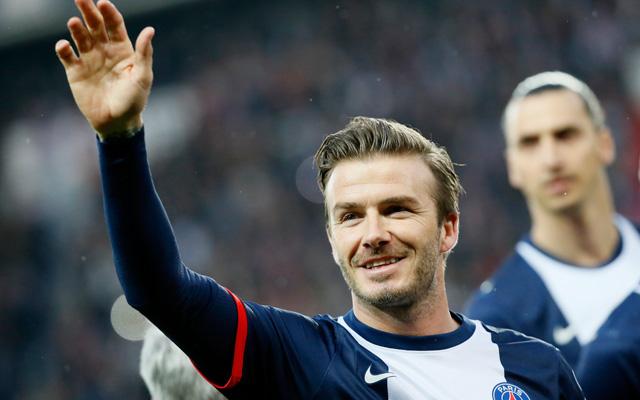 David Beckham elbúcsúzott a párizsi közönségtől és a futballvilágtól - Fotó: AFP