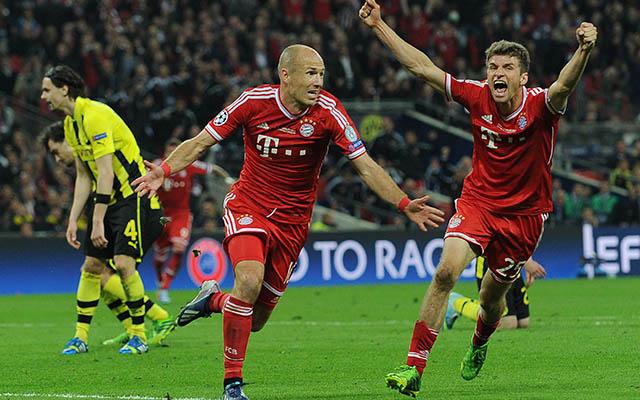 Robben vezérletével a Bayern nyolcat lőtt Stiberéknek.