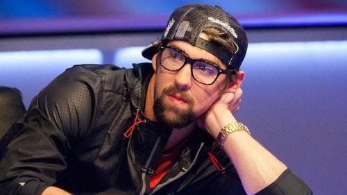 MIchael Phelps a WSOP-n pókerezik