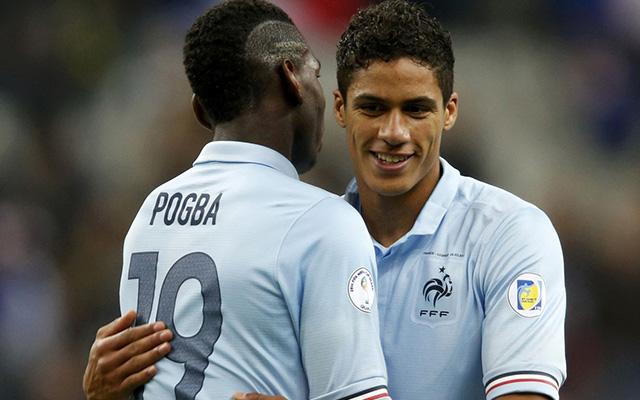 Paul Pogba, a francia álogatott fiatal játékosa