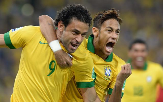 Fred és Neymar