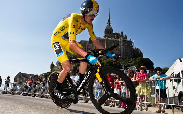 Froome egyelőre teljesen uralja a Tourt - Fotó: AFP
