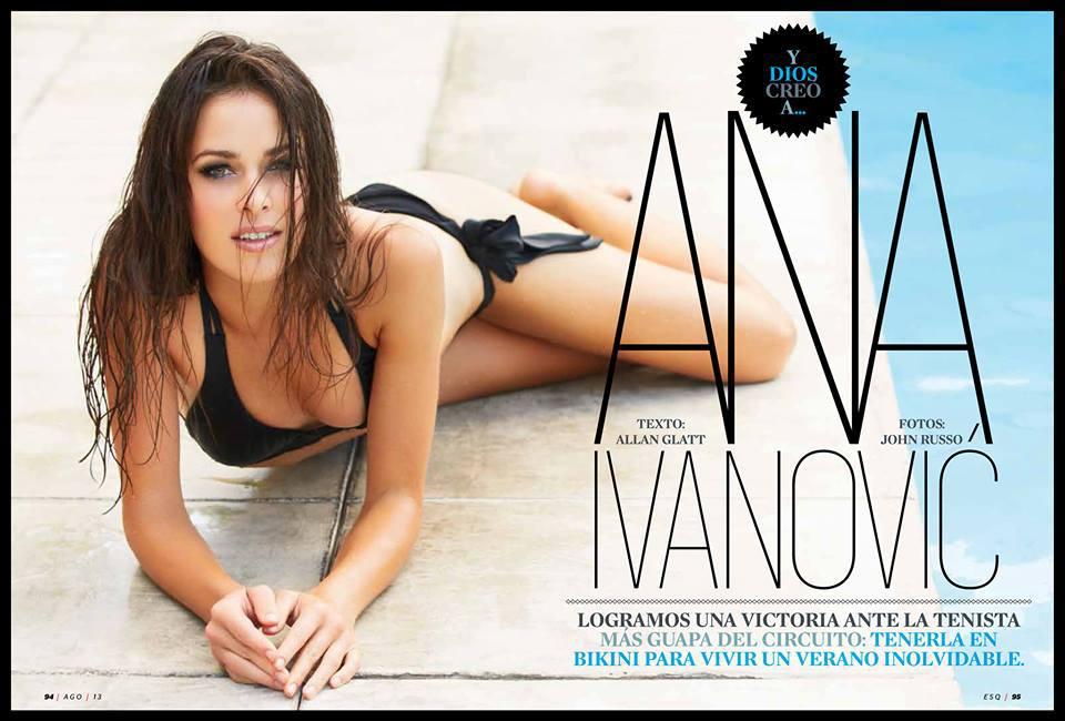 Ana Ivanovics - fotó: esquire