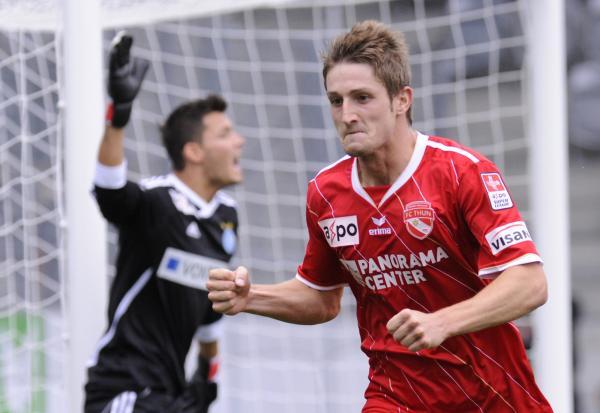 A Thun folytathatja jó sorozatát, ami a góllövést illeti. - Fotó: uk.eurosport.yahoo.com