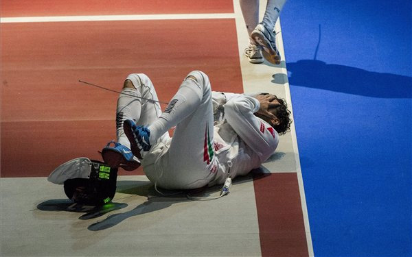 Nagy győzelmet arattak Boczkó Gáborék - Fotó: MTI