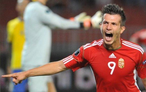 A válogatottban a svédek ellen győztes gólt szerzett - Fotó: AFP
