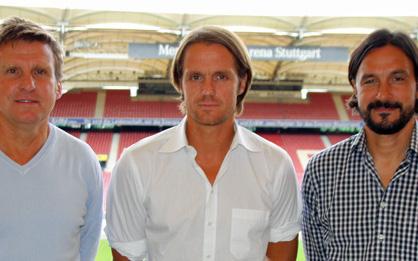 Összeállt az új stáb Stuttgartban, fiatal tréner lesz a főnök - Fotó: www.vfb.de