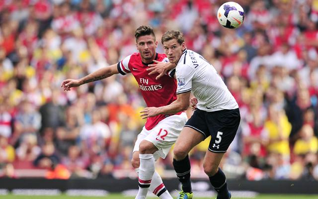 Giroud gólja három pontot ért az Ágyúsoknak - Fotó: AFP