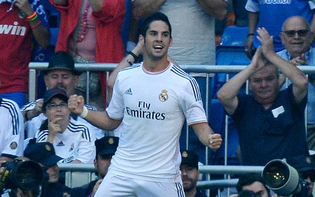 Isco megéri a pénzét, három gólnál jár - fotó: AFP