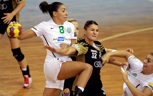 Szucsánszki Zita fontos gólokat lőtt és védekezésben is remekelt - Fotó: MTI