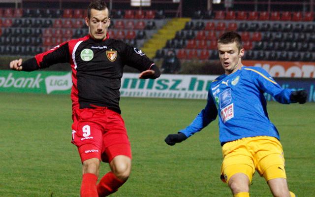 Délczeg (b) a Horváth Ferenc csapatánál folytatja - Fotó: honvedfc.hu