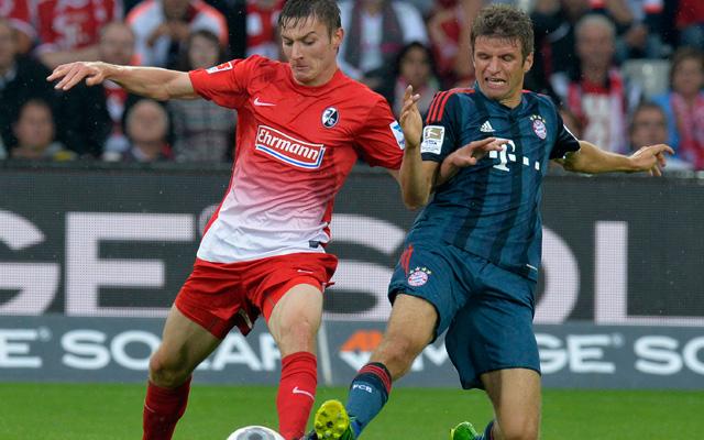 A Bayern szenvedett Freiburgban - Fotó: AFP