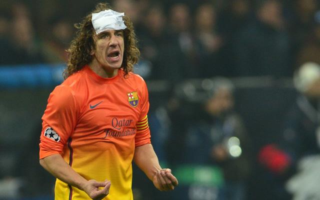 Carles Puyol lehet ismét a Barcelona megmentője - Fotó: AFP