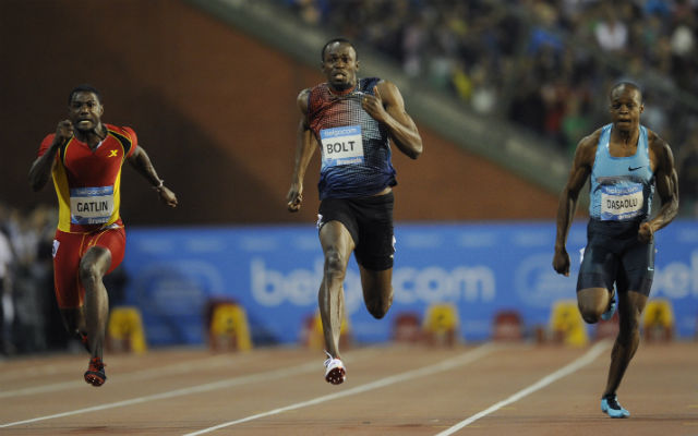 Bolt fölényesen nyert Brüsszelben - Fotó: AFP