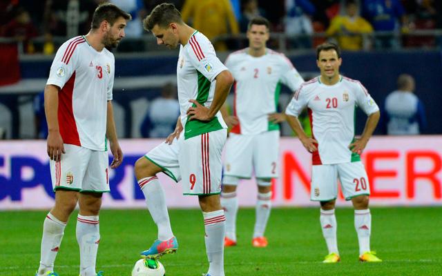 Nem sikerült örömet szerezni, elbukott a magyar válogatott Bukarestben - Fotó: MTI