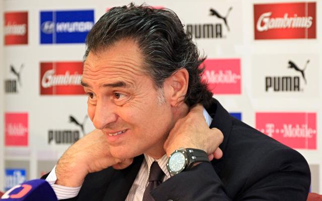 Prandelli nehéz meccset vár / AFP