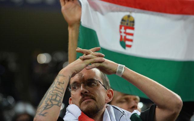 A meccs után a csalódottság urakoldott szurkolóinkon - Fotó: AFP