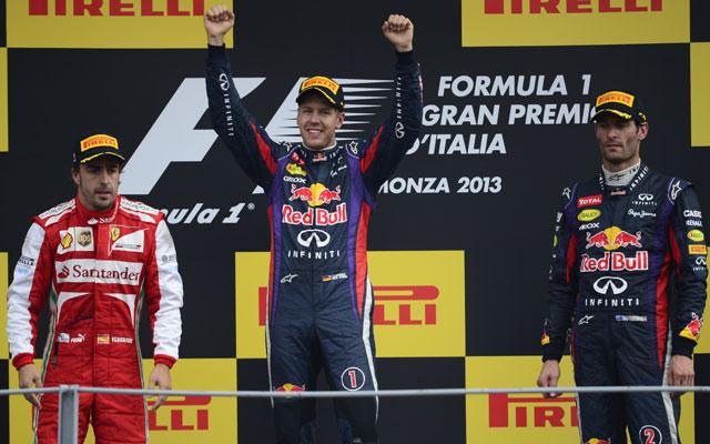 Vettel szinte már négyszeres világbajnok - Fotó: AFP