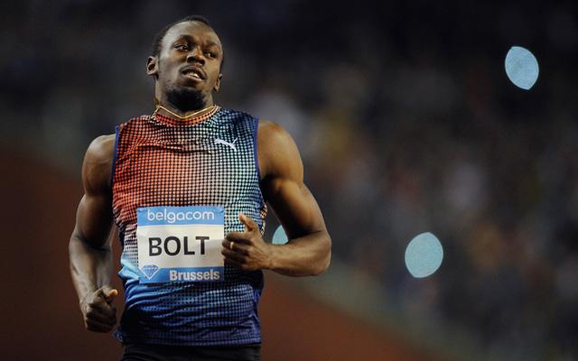 Bolt még jobb akar lenni - Fotó: AFP