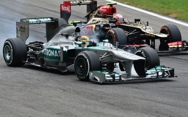 Hamilton egy kis pihenő után már versenyképesebbnek érezte magát - Fotó: AFP