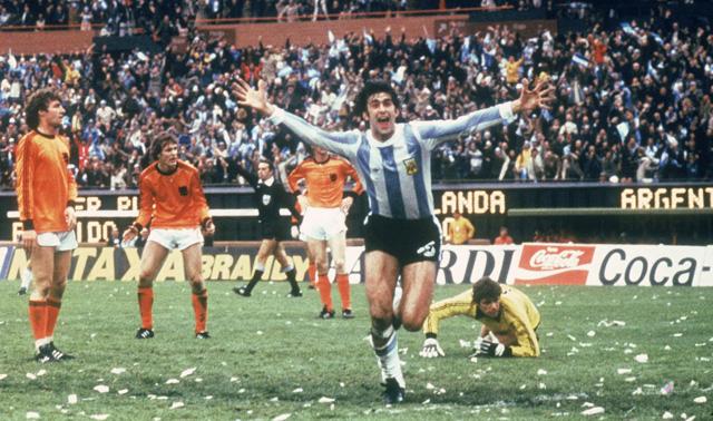 Kempes az 1978-as vb döntőjében két gólt rúgott Hollandiának