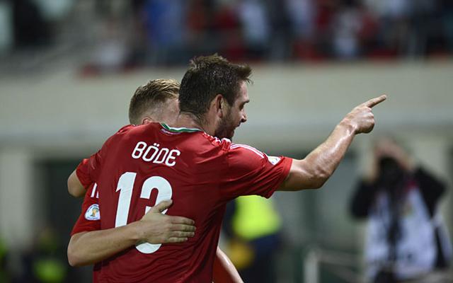Élete mérkőzését játszotta a Ferencváros csatára, Böde Dániel / origo