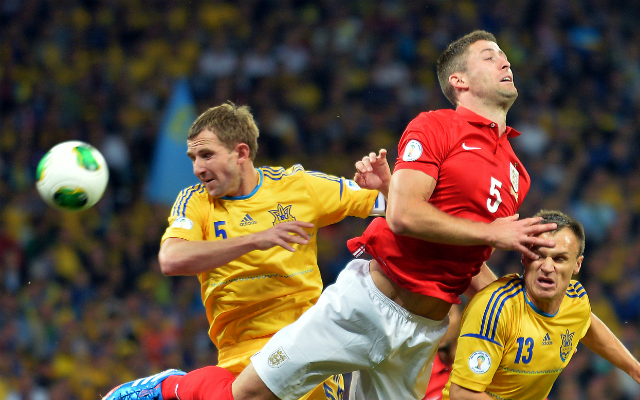 Ukrajna és Anglia nem bírt egymással - Fotó: AFP