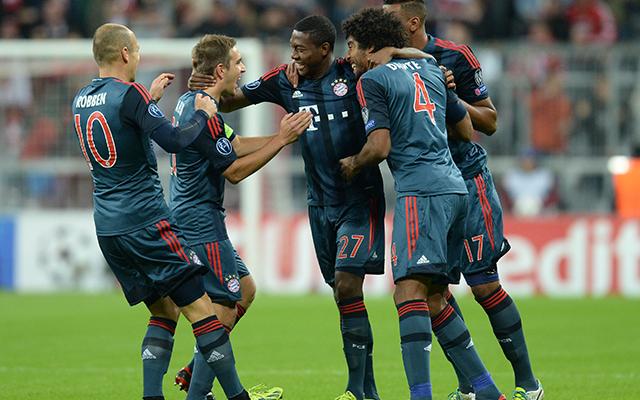 A Bayernnek nem okozott gondot a CSZKA legyőzése - Fotó: AFP