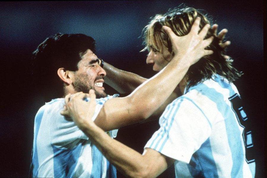 Maradona és Caniggia leginkább az 1990-es vb-n remekeltek együtt az argentin válogatottban