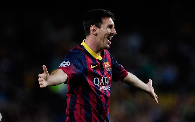 Messi mesterhármast lőtt - Fotó: AFP