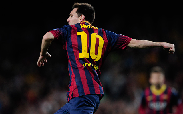 Messi triplával segítette a Barcát - Fotó: AFP