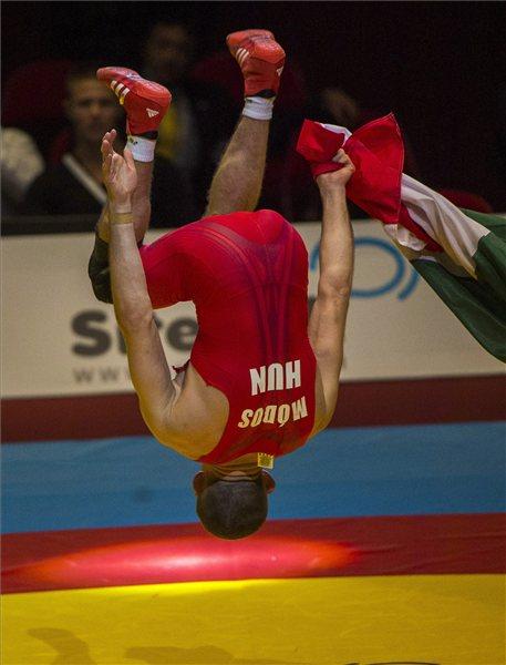 Módos Péter hazai közönség előtt szerezte első vb-érmét - fotó: MTI