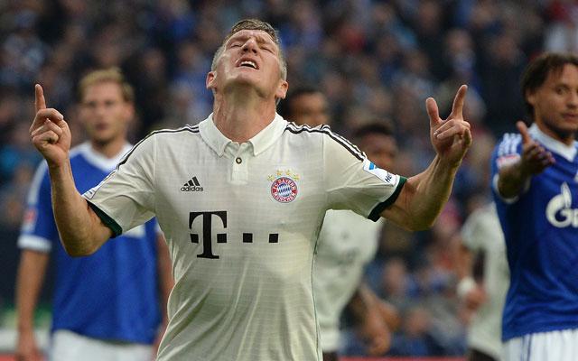 Schweinsteiger kezdte a hengerelést - Fotó: AFP