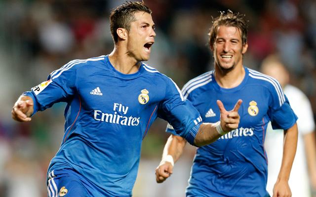 Cristiano Ronaldo büntetője döntött az Elche otthonában - fotó: AFP
