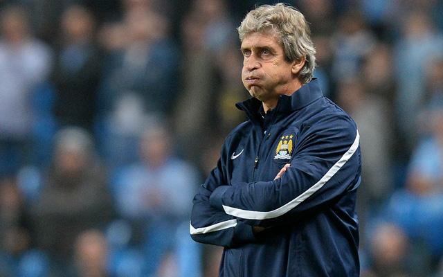 Pellegrinivel még nem tudott nyerni idegenben a City - fotó: AFP