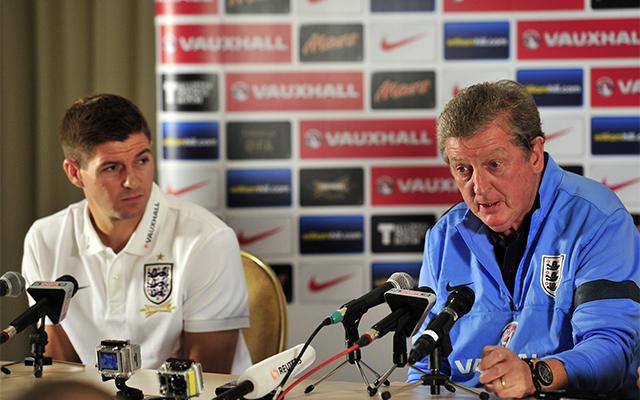 Hodgson és Gerrard is bízik a győzelemben / AFP