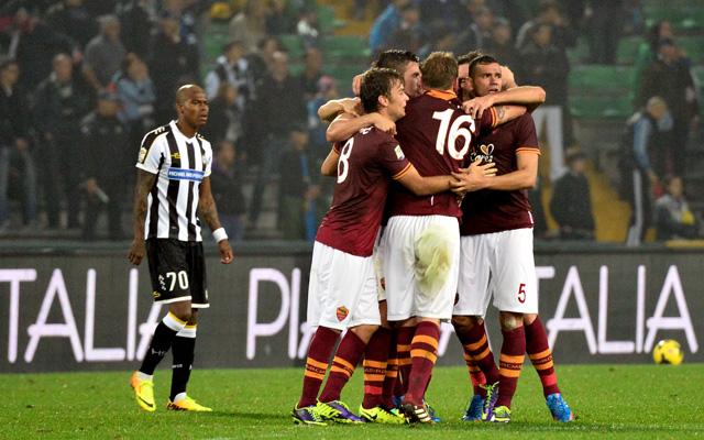 Csak a szokásos, meccset nyert az AS Roma - fotó: AFP
