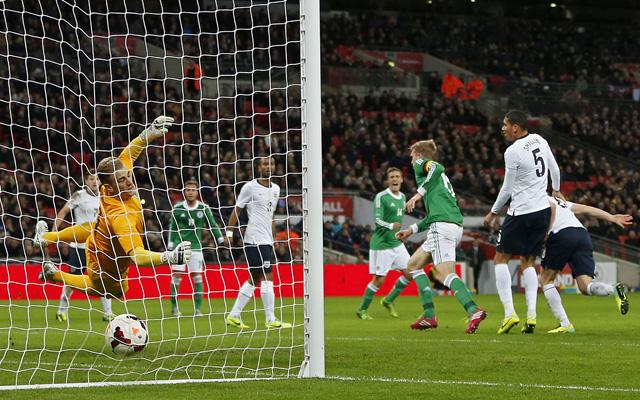 Mertesacker szerezte a győztes gólt - Fotó: AFP