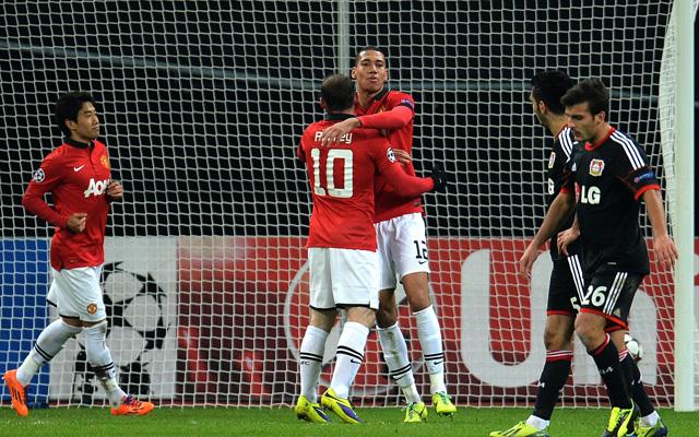 Rooney vezér volt - Fotó: AFP