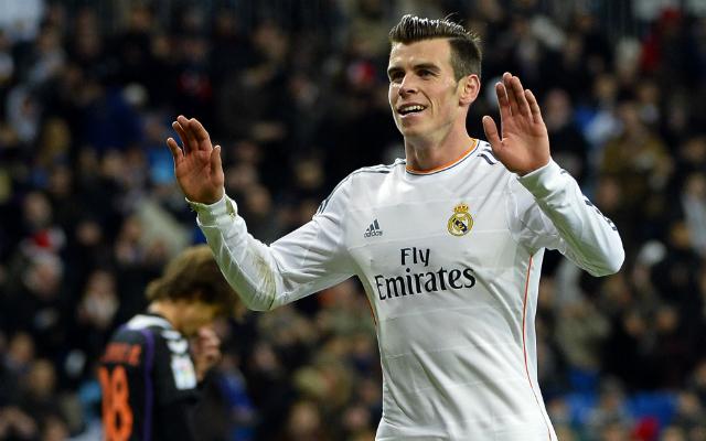 Első madridi triplájával Gareth Bale volt a nap hőse - Fotó: AFP
