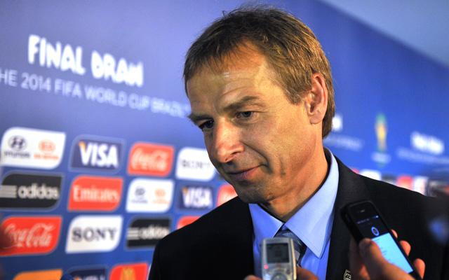 Klinsmann hazája ellen vezeti az Egyesült Álalmokat - Fotó: AFP]